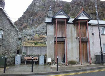 Thumbnail Land for sale in 5 Church Street, Blaenau Ffestiniog, Gwynedd