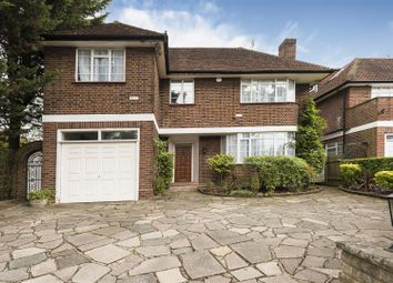 Thumbnail 4 bed detached house to rent in Spencer Drive, Hampstead Garden Suburb, London