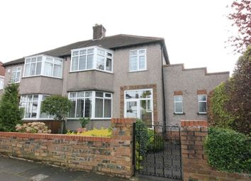 Thumbnail 3 bed semi-detached house for sale in Glenhead Road, Grassendale, Liverpool