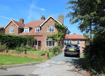 Thumbnail 4 bedroom semi-detached house for sale in The Crossway, York