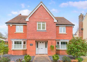 Thumbnail 4 bed detached house for sale in Orchard End, Chieveley, Newbury