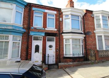 Thumbnail 3 bed terraced house for sale in Clifton Road, Darlington, Durham