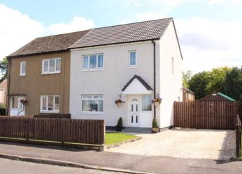 Thumbnail 2 bed semi-detached house for sale in North Road, Johnstone, Renfrewshire