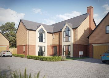 Thumbnail 5 bed detached house for sale in Alyesbury Court, Alyesbury Road, Lapworth