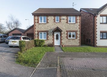 Thumbnail 4 bedroom detached house for sale in Kember Close, St. Mellons, Cardiff