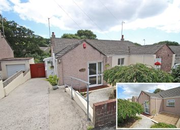 Thumbnail 2 bedroom semi-detached bungalow for sale in Shute Park Road, Goosewell, Plymouth, Devon