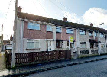 Thumbnail 3 bed end terrace house for sale in Cherryvalley Crescent, Newtownards
