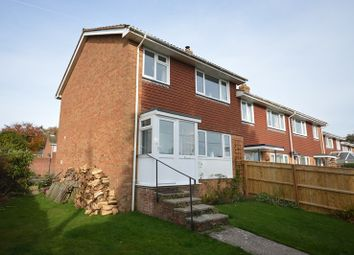 Thumbnail 3 bed semi-detached house to rent in Highfield Gardens, Sway, Lymington
