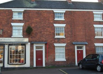 Thumbnail 1 bed flat to rent in High Street, Tutbury, Staffordshire