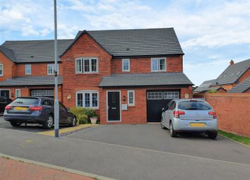 Thumbnail 4 bed detached house for sale in Elderberry Drive, Rothley, Leicester
