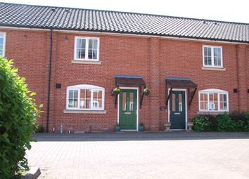 Thumbnail 2 bed terraced house for sale in Bell Close, Saxmundham