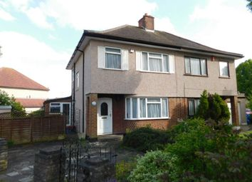 Thumbnail 3 Bedroom Semi Detached House To Rent In Milverton Drive Ickenham