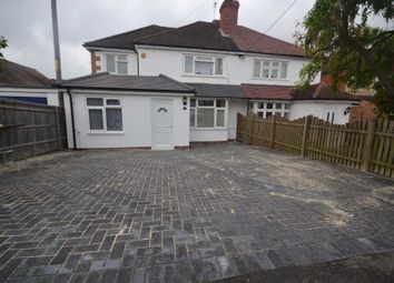 Thumbnail 5 bedroom semi-detached house to rent in Meadow Road, Earley, Reading