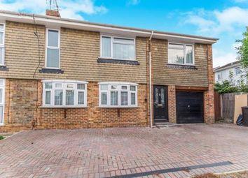 Thumbnail 4 bed semi-detached house for sale in Queendown Avenue, Rainham, Gillingham, Kent