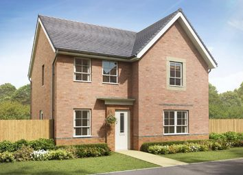 "Thumbnail 4 bed detached house for sale in ""Radleigh"" at Crewe Road, Shavington, Crewe"