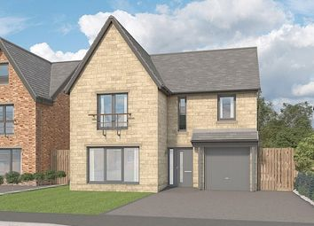 "Thumbnail 4 bed detached house for sale in ""The Willow At Cragside Gardens"", Lordenshaw Drive, Rothbury, Morpeth"