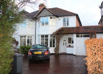 Thumbnail 3 bed semi-detached house to rent in Solihull Road, Shirley, Solihull, West Midlands