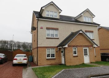 Thumbnail 3 bed town house for sale in Wilkie Drive, Motherwell