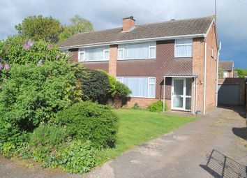 Thumbnail 3 bed semi-detached house for sale in Manor Way, Higham Ferrers, Rushden