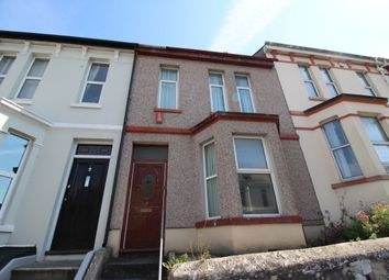 Thumbnail 3 bedroom terraced house to rent in Furzehill Road, Mutley, Plymouth