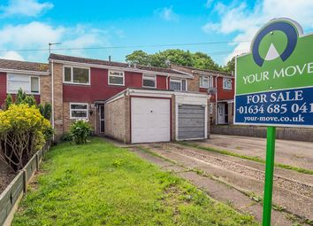 Thumbnail 3 bed terraced house for sale in Ballens Road, Lordswood, Chatham