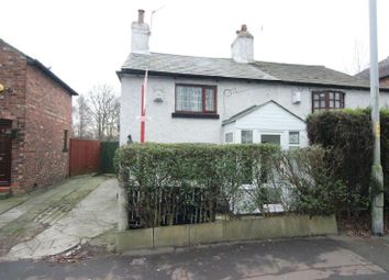 Thumbnail 2 bed semi-detached house for sale in Altrincham Road, Manchester
