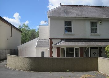 Thumbnail Semi-detached house for sale in Station Road, Ystradgynlais, Swansea.