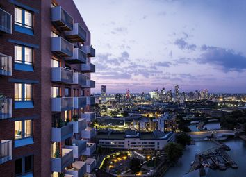 Thumbnail 1 bed flat for sale in 20-22 Gillender Street, London, Bow Creek