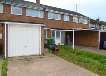 Thumbnail 3 bed terraced house to rent in George Dere Close, New Ollerton, Newark