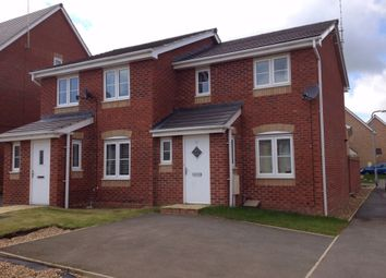 Thumbnail 2 bed semi-detached house for sale in Magpie Close, Corby, Northamptonshire
