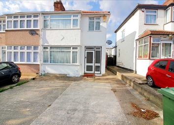 Thumbnail 3 bed end terrace house for sale in Lawrence Crescent, Edgware, Middx
