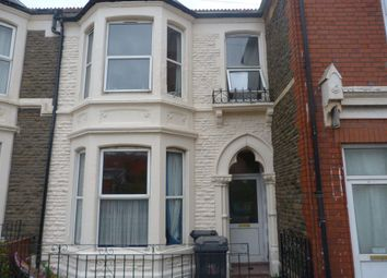 Thumbnail 5 bed property to rent in Monthermer Road, Cathays, Cardiff
