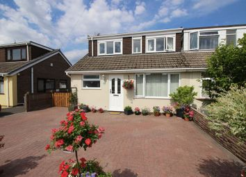 Thumbnail 3 bed semi-detached house for sale in Haven Crescent, Werrington, Staffordshire