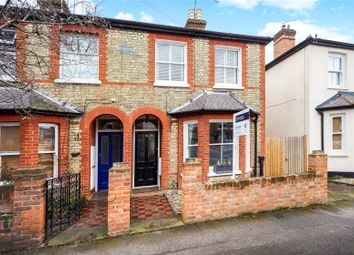 Thumbnail 3 bed semi-detached house for sale in Elmgrove Road, Weybridge, Surrey