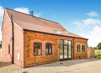 Thumbnail 3 bedroom barn conversion for sale in Chequers Road, Grimston, Kings Lynn, Norfolk