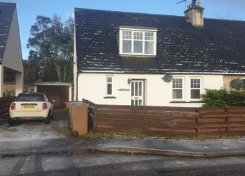 Thumbnail 2 bedroom semi-detached house to rent in County Houses, Miltonduff, Moray
