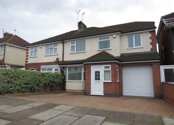Thumbnail 4 bed semi-detached house for sale in Alton Road, Aylestone, Leicester