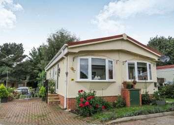 Thumbnail 2 bed mobile/park home for sale in Bridge Lane, Weston-On-Trent, Derby
