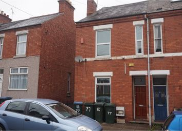 Thumbnail 3 bedroom end terrace house for sale in Broomfield Road, Coventry
