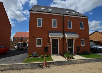 Thumbnail 3 bedroom town house to rent in Linus Grove, Cardea, Peterborough
