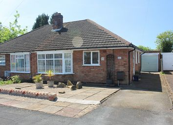 Thumbnail 2 bed semi-detached bungalow for sale in Davenport Avenue, Oadby, Leicester