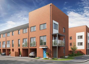 "Thumbnail 3 bed town house for sale in ""The Sanderling"" at Discovery Avenue, Ipswich"