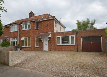 Thumbnail 4 bed semi-detached house for sale in Trafford Road, Norwich
