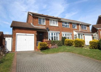 Thumbnail 3 bed semi-detached house for sale in Roundway Down, Freshbrook, Swindon