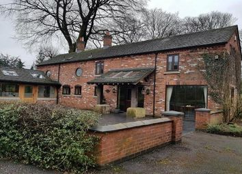 Thumbnail 4 bed barn conversion to rent in Church Lane, Church Lawton