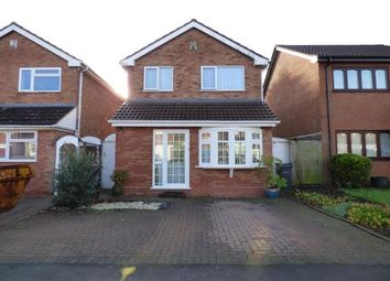 Thumbnail 3 bed detached house for sale in Avery Drive, Acocks Green, Birmingham, West Midlands
