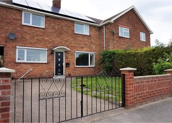 Thumbnail 3 bed terraced house for sale in Broomfield Lane, Mattersey Thorpe, Doncaster