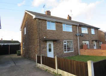 Thumbnail 3 bed semi-detached house for sale in Chestnut Drive, New Ollerton, Newark