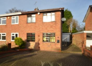 Thumbnail 3 bed semi-detached house to rent in Delamere, Willenhall