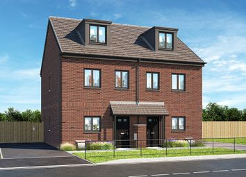 """Thumbnail 4 bed property for sale in """"The Bedgebury"""" at Brook Park East Road, Shirebrook, Mansfield"""